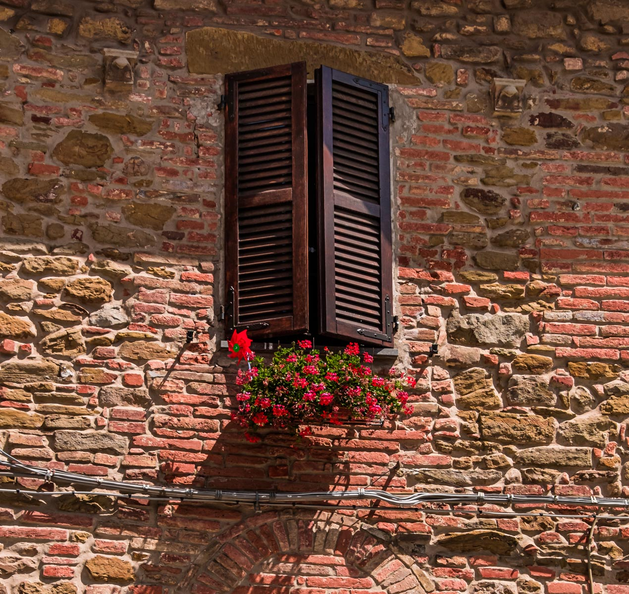 Panicale, Italy.  Photo by Barry Schwartz